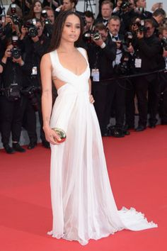 See the best red carpet fashion from Cannes Film Festival: Zoe Kravitz