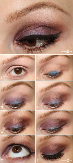 Plummy Eye Makeup Tutorial #eyeshadow #makeup #beauty