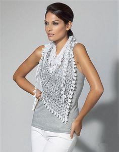 Ravelry: 70-25 Crochet Scarf pattern by Equipo de Diseño de Fil Katia, S.A.