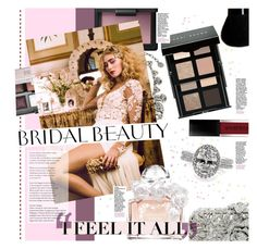 """Bridal Beauty"" by stacey-lynne ❤ liked on Polyvore featuring beauty, Charlotte Olympia, Ben-Amun, NARS Cosmetics, Givenchy, Guerlain, Smashbox, Mark Broumand and Bobbi Brown Cosmetics"