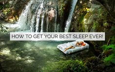 I thought I'd share some tips and techniques that have proven to work and will help you get your sweetest sleep possible! 5 Htp, How To Stay Awake, Good Sleep, Health Tips, You Got This, Waterfall, How To Get, Outdoor, Outdoors