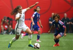 Alex Morgan USA vs Japan