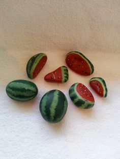 Stone watermelons