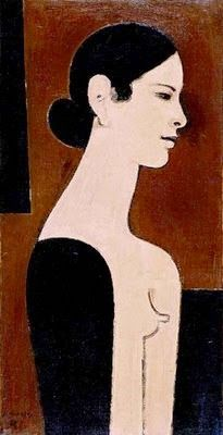 Yannis Moralis / Γιάννης Μόραλης is an outstanding figure in Modern Greek painting. He became a professor at the School of Fine Arts at a very early age and for years taught the younger generations of Greek painters. Greece Painting, Greece Art, Art Antique, Ecole Art, Concrete Art, Illustrations, Figure Painting, Find Art, Contemporary Art