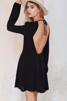 Nasty Gal Stop Short Cutout Dress | Shop Clothes at Nasty Gal!