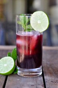 Cherry Limeade - A strong anti-inflammatory and anti-cancer combination. A healthy and refreshing drink anytime of the year for you and your kids!