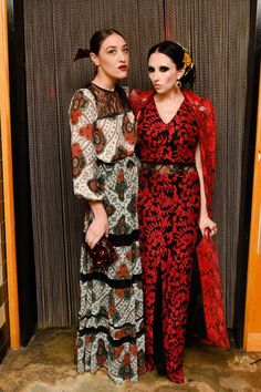 Mia Moretti and Stacy Bendet in Alice + Olivia at Alice + Olivia's Baby Got Back party. See more celebrity party photos here: