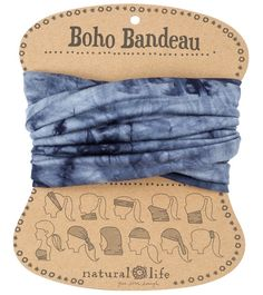 Natural Life Tie-Dye Boho Bandeau at YogaOutlet.com – The Web's most popular yoga shop