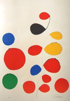 Alexander Calder original prints, lithographs and etchings on Amorosart Alexander Calder, Atelier Theme, Modern Art, Contemporary Art, Arte Popular, Art Moderne, Art Design, Art Plastique, Oeuvre D'art