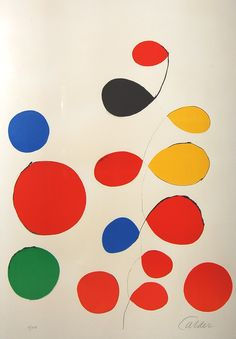 Alexander Calder (1898-1976)Untitled  Saw my first Calder in person in Florida years ago at a seminar. Huge and impressive, these pieces of art move. Wonderful.