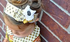 Fabric Headband Tutorial – Shank Button Tip | The Mother Huddle