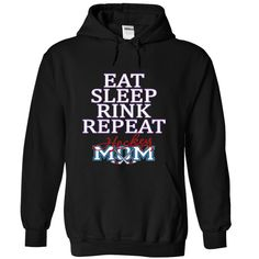 View images & photos of EAT SLEEP RINK REPEAT HOCKEY MOM t-shirts & hoodies