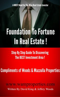 Foundation To Fortune In Real Estate!
