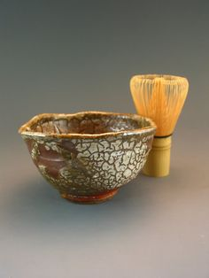 Teabowl Chawan Tea Bowl Matcha Tea Cup Shino Anagama Woodfired Green Tea