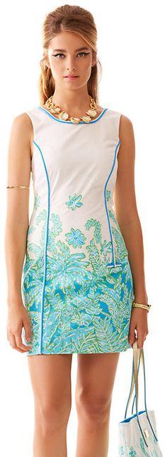 Lilly Pulitzer Carlow Sleeveless Shift Dress on shopstyle.com