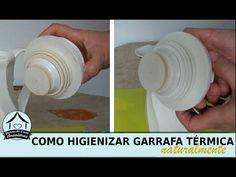 Como limpar e higienizar garrafa térmica com bicarbonato