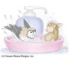 """""""Mudpie"""" from House-Mouse Designs featured on the The Daily Squeek® for September 10th, 2013. Click on the image to see it on a bunch of really """"Mice"""" products."""