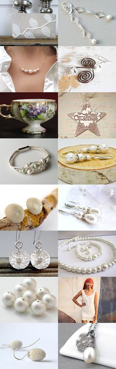 Little Pearlies by Carla on Etsy--Pinned+with+TreasuryPin.com
