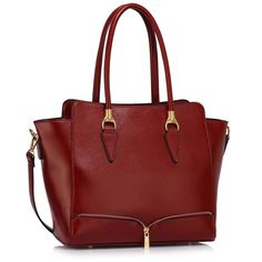 Red zip  Tote