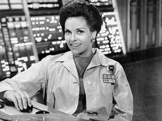 """The Time Tunnel"" Lee Meriwether, Miss America 1955 Great Tv Shows, Old Tv Shows, The Time Tunnel, Lee Meriwether, James Darren, Irwin Allen, Sci Fi Tv Series, Sci Fi Shows, Aliens Movie"