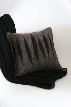Felted Cushion by reyaveltman