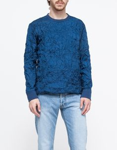 SP Pullover Crinkled Sweater