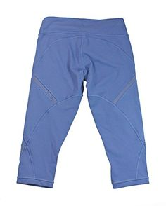 """Lululemon Womens Blue Denim Cool To Street Crop Pants  Lululemon Womens Blue Denim Cool To Street Crop Pants Keep cool with these versatile, knee-length crops. Sweat-wicking Full-On� Luxtreme fabric offering great support and coverage. Added LYCRA� fibre with contoured Mesh fabric ventilation. Waistband pocket. Chafe-resistant flat seams. Tight fit. Medium rise. 17"""" inseam.11 1/4"""" leg opening.  http://www.beststreetstyle.com/lululemon-womens-blue-denim-cool-to-street-crop-pants-2/"""