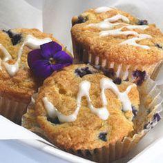 Lemon-blueberry Breakfast Muffins