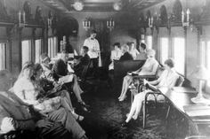 1912 passenger train interior - Google Search