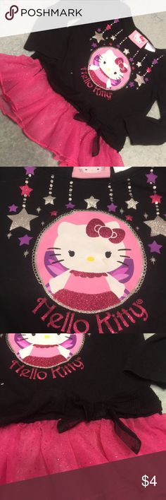 Hello Kitty shirt Used, but has lots of life left Hello Kitty Shirts & Tops Tees - Long Sleeve