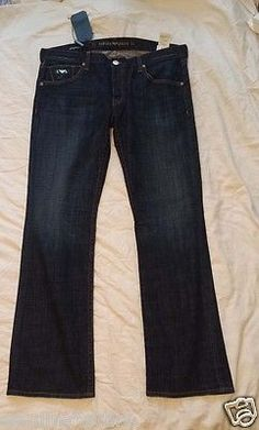 #jeans for sale : Emporio Armani men jeans size 40 x 35 dark blue color NWT withing our EBAY store at  http://stores.ebay.com/esquirestore
