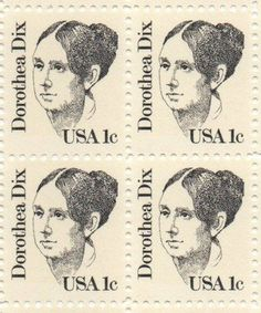Dorothea Dix Set of 4 x 1 Cent US Postage Stamps NEW Scot 1844 by USPS. $0.40. One set of four (4) Dorothea Dix4 x 1 Cent postage stamps Scot #1844