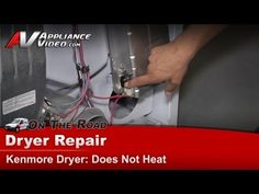 How to Replace the Belt on a Kenmore 70 Series Dryer Kenmore Dryer