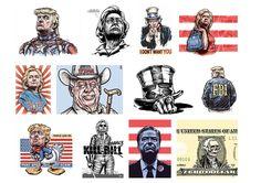 Do finále amerických voleb zbývají už jenom hodiny. Sledujte s námi souboj o křeslo amerického prezidenta.A zatím se v kresbách Pavla Reisenauera…