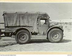 WESTERN DESERT, EGYPT. 1942-10. CAPTURED ITALIAN TRUCK.