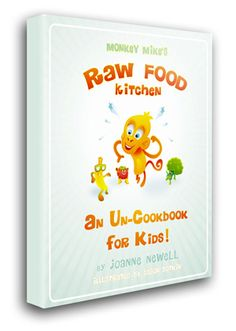 raw uncook book for kids .