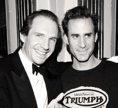 Ralph Fiennes, Joseph Fiennes. Both so handsome.