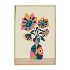 Canvas Art Prints, Canvas Wall Art, Cheap Wall Art, Contemporary Art Prints, Sunflower Art, Dream Wall, Mid Century Art, Rainbow Art, Arte Pop