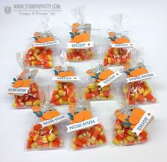 goodie gear simply created kit halloween treats cello bags punch art