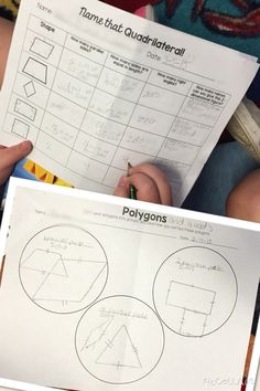 Polygons, Triangles, & Quadrilaterals, Oh My!-Sorting & Classifying 2D Shapes