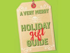 #GiftGuide! Don't stress over what to give this season. HGTV Magazine did the shopping for you! #hgtvmagazine // http://www.hgtv.com/design/make-and-celebrate/holidays/a-very-merry-holiday-gift-guide-pictures?soc=pinterest