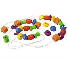 Plan Toys Lacing Beads $25.49 - from Well.ca