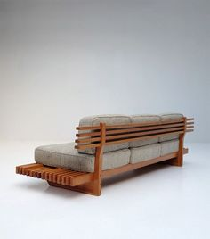 Handcrafted sofa . 1960s: