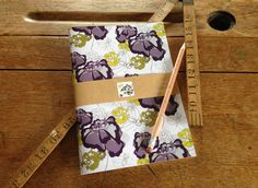 Notebook Lined Paper -- Carnation Design £5.00