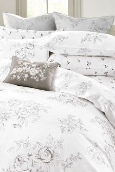 Bedroom Decor Next this grey bedding is the perfect way to update your bedroom and