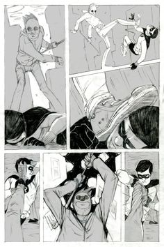 rocketslime: aapstra: The Boy Wonder, comic short by Jake Wyatt… Icarus Myth, Graphic Illustration, Dc Comics Characters, Comic Layout, Graphic Novel, Art, Drawing Challenge, Animated Drawings, Art World