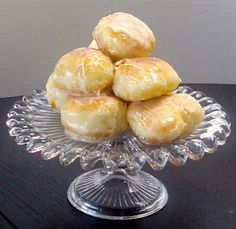 Glazed and Cinnamon Sugar-Coated Donuts