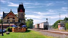 Watching Trains in Berea