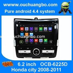 Ouchuangbo DVD GPS Navigation iPod USB 3G Wifi for Honda city 2008-2011 Android 4.4 OS from China
