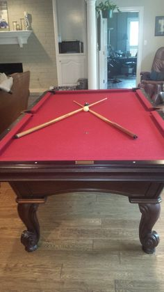 Nice 8 Foot #Olhausen #Pool #Table Sporting Goods   #SanAngelo, TX